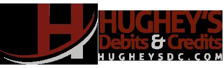 Hughey's Debits & Credits